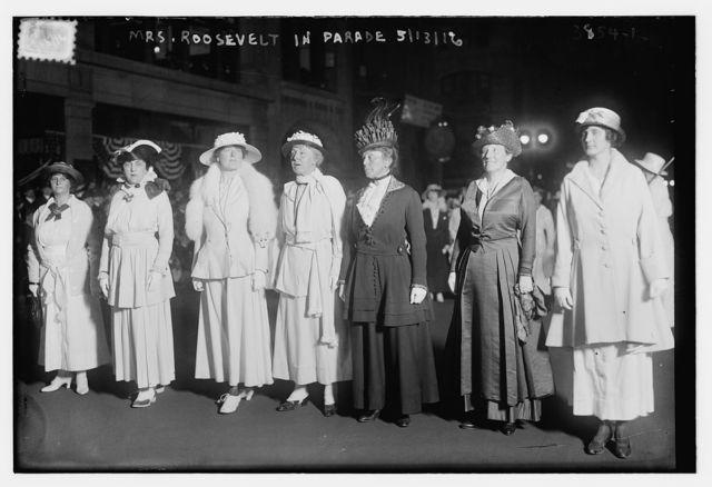Mrs. Roosevelt in Parade, 5/13/16