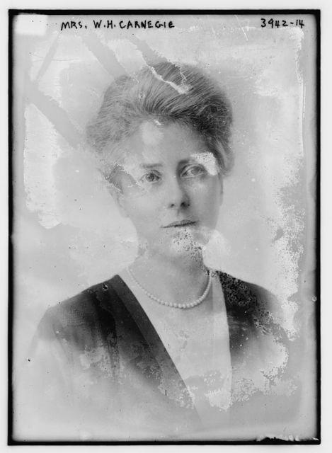Mrs. W.H. Carnegie
