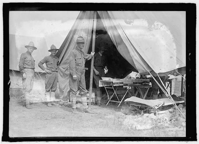 National Guard, Camp Ordway, Va., 1916