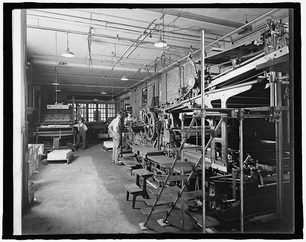 National Publishing Co. interior