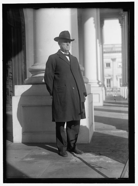 PADGETT, LEMUEL PHILLIPS. REP. FROM TENNESSEE, 1901-1922