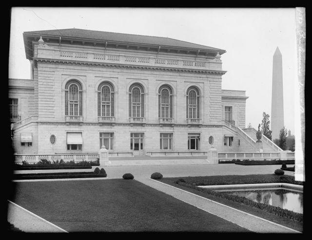 Pan American Union, [Washington, D.C.], rear