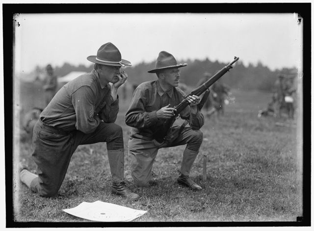PLATTSBURG RESERVE OFFICERS TRAINING CAMP