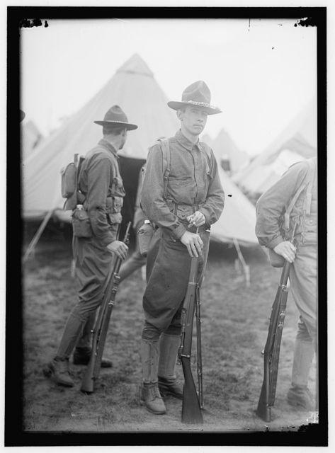 PLATTSBURG RESERVE OFFICERS TRAINING CAMP