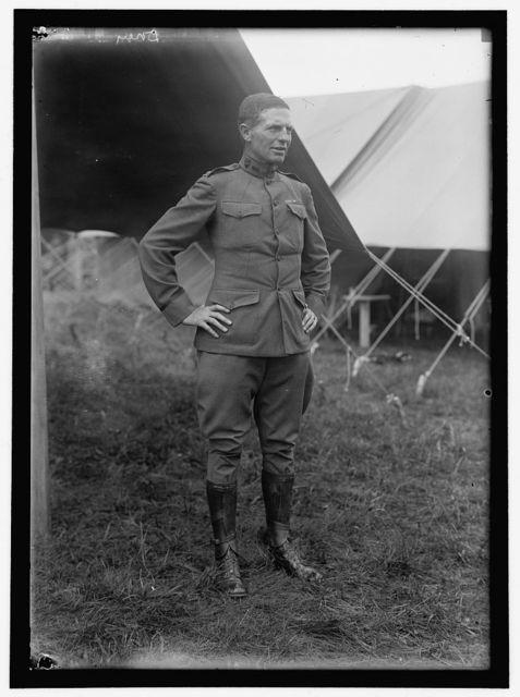 PLATTSBURG RESERVE OFFICERS TRAINING CAMP. CAPT. HALSTEAD DOREY, U.S.A., 4TH INF. INSTRUCTOR