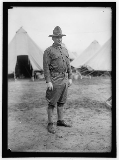 PLATTSBURG RESERVE OFFICERS TRAINING CAMP. PHIL PATCHIN