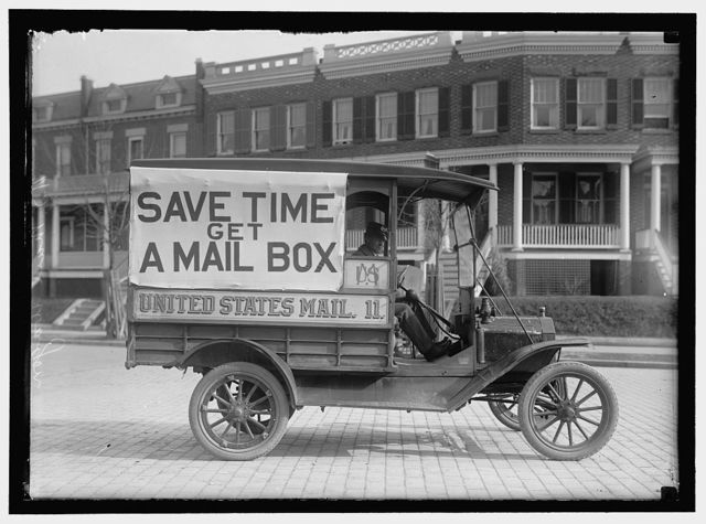 POST OFFICE DEPARTMENT MAIL WAGONS