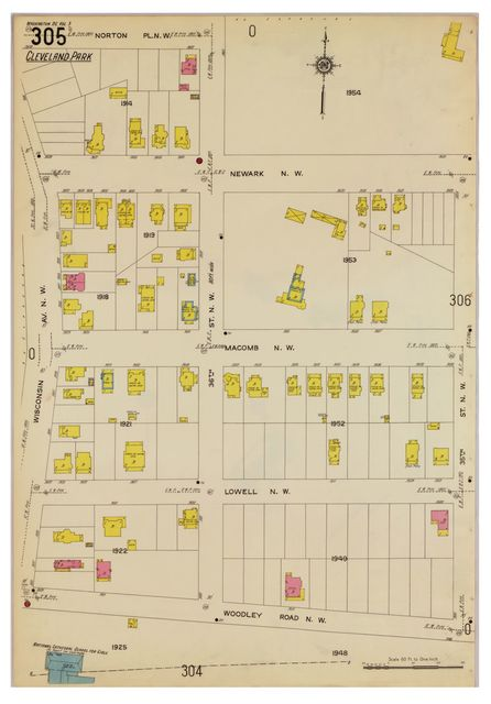 Sanborn Fire Insurance Map from Washington, District of Columbia, District of Columbia.