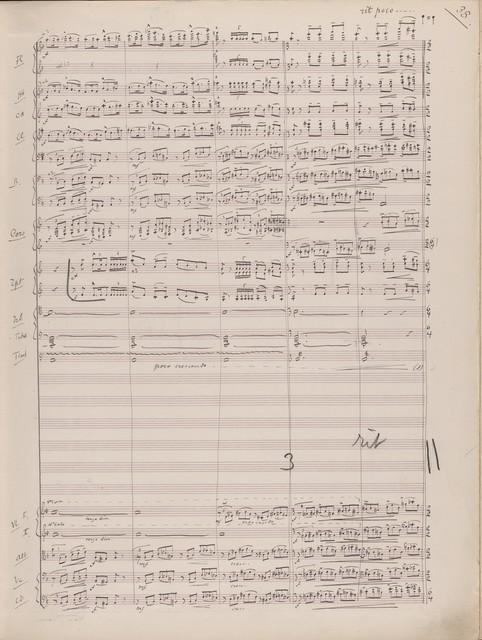 Schelomo rapsodie hébraïque pour violoncelle solo et grand orchestre