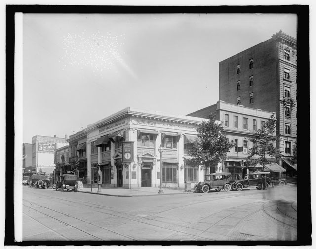 Security Savings & Com'l Bank, [9th and G Sts., N.W., Washington, D.C.]