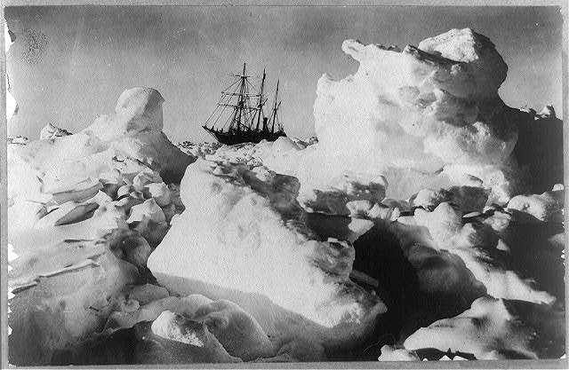 Shackleton's expedition to the Antarctic a titanic upheaval.