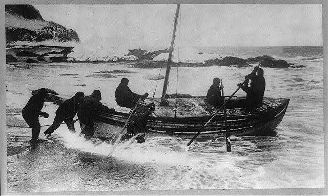 Shackleton's expedition to the Antarctic Sir Ernest Shackleton to the rescue.