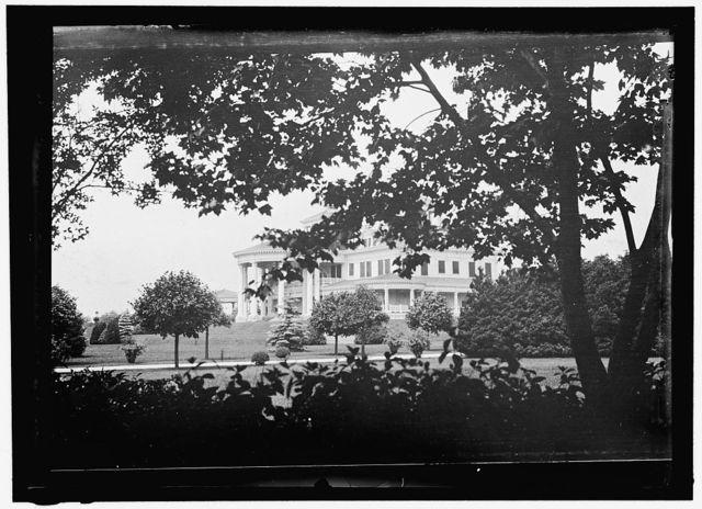 SHADOW LAWN, N.J. SUMMER WHITE HOUSE