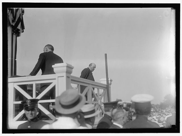 SHADOW LAWN, NJ. SUMMER WHITE HOUSE. NOTIFICATION CEREMONIES. SEN. OLLIE JAMES, RIGHT
