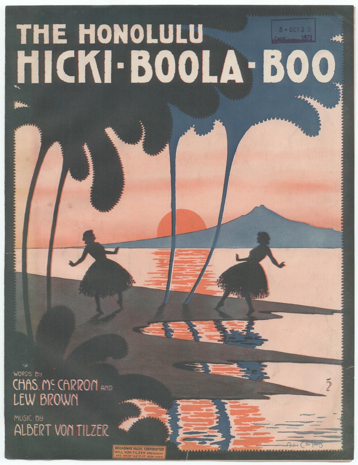 The  Honolulu hicki boola boo
