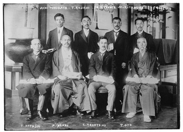 Uichi Torigata, T.Kujirai, Dr. Y. Inouye, M. Kitamura, T. Hayashi, M. Honda, E. Yakoyama, T. Oya