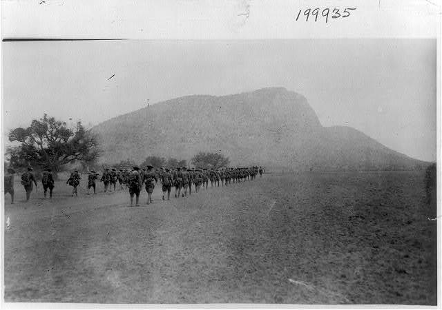 [U.S. Army Punitive Expedition after Villa, 1916]