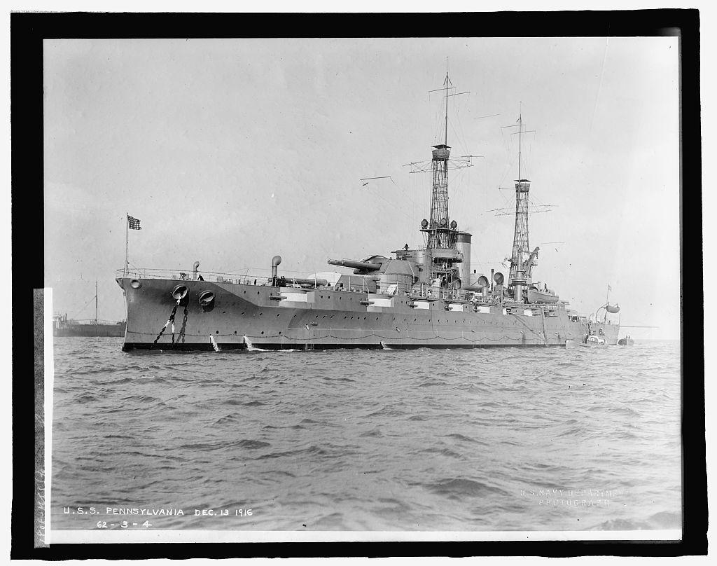 U.S.S. Pennsylvania, Dec. 13, 1916