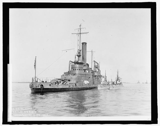 U.S.S. Tallahassee, U.S. Subs K-6 & K-5, Hampton Roads, [Virginia] Dec. 10, 1916