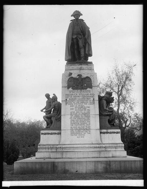 Von Steuben Statue, [Washington, D.C.]