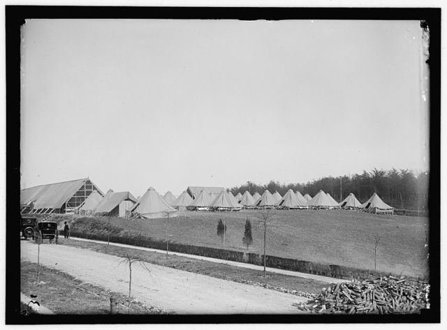 WOMAN'S NATIONAL SERVICE SCHOOL, UNDER WOMAN'S SECTION, NAVY LEAGUE. CAMP; GENERAL VIEW