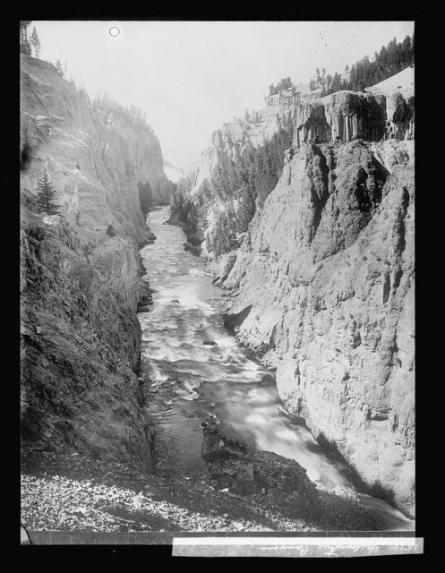 Yellowstone Canyon, [Wyoming]