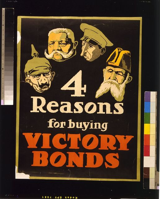 4 reasons for buying Victory Bonds