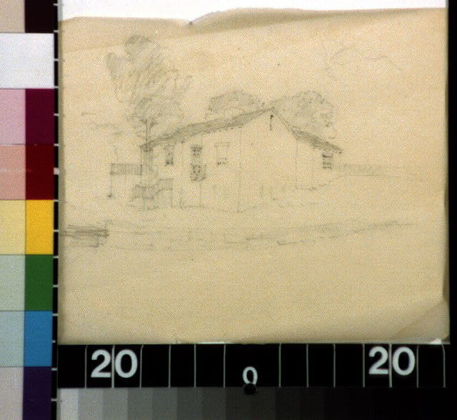 Adobe cottage, Southern Calif. (?)