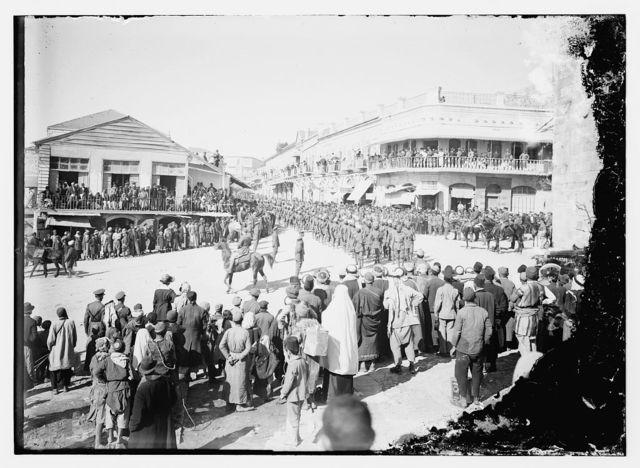 Allenby parade & inv. [i.e., investiture]