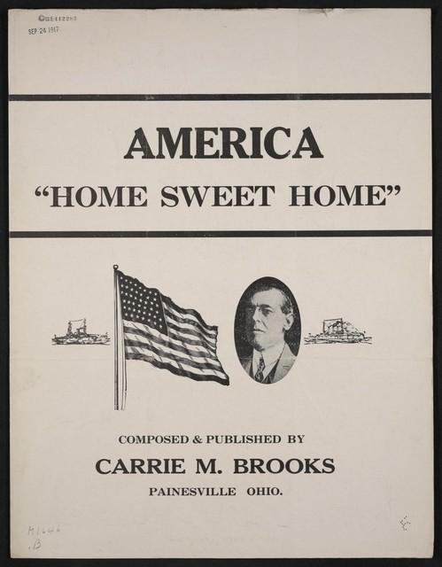 America, home sweet home