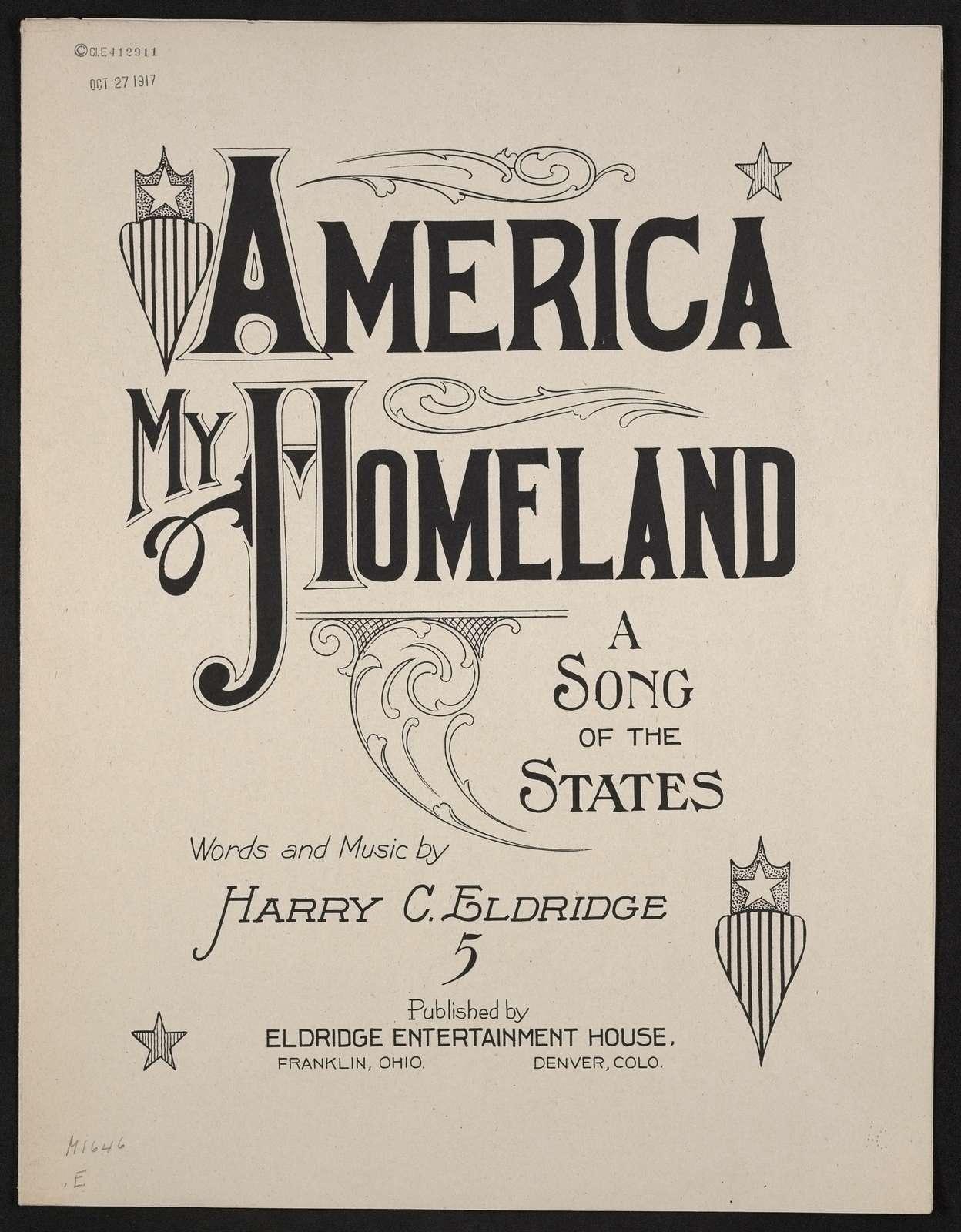 America my home-land