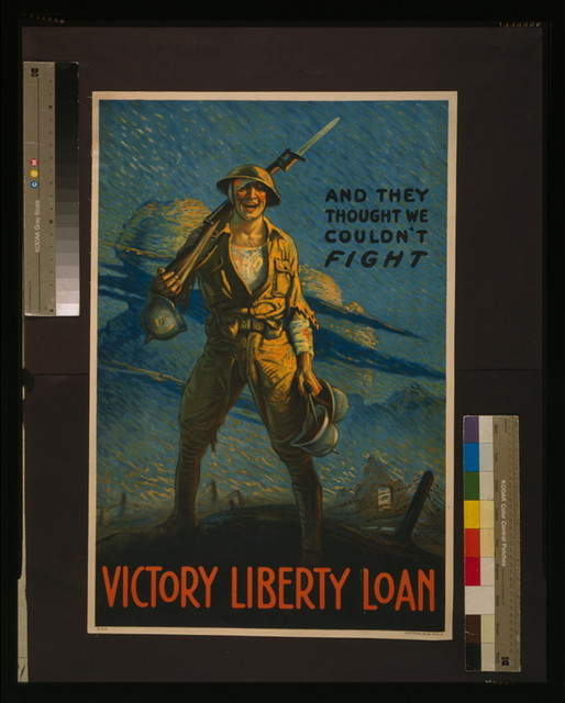 And they thought we couldn't fight - Victory Liberty Loan / Clyde Forsythe ; Ketterlinus, Phila.