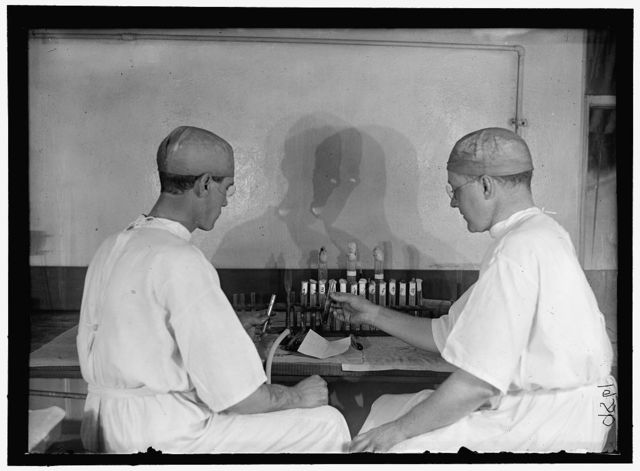 ARMY, U.S. ARMY MEDICAL SCHOOL; TYPHOID VACCINE