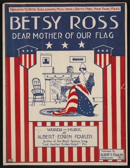 Betsy ross dear mother of our flag