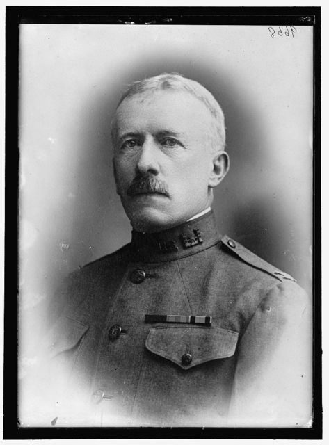 BIDDLE, JOHN, MAJ. GENERAL, U.S.A. SUPT., U.S. MILITARY ACADEMY, 1917-1918