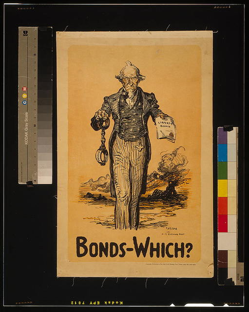 Bonds - which? / Cesare in N.Y. Evening Post.