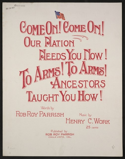 Come on! Come on! Our nation needs you now! Ancestors taught you how!