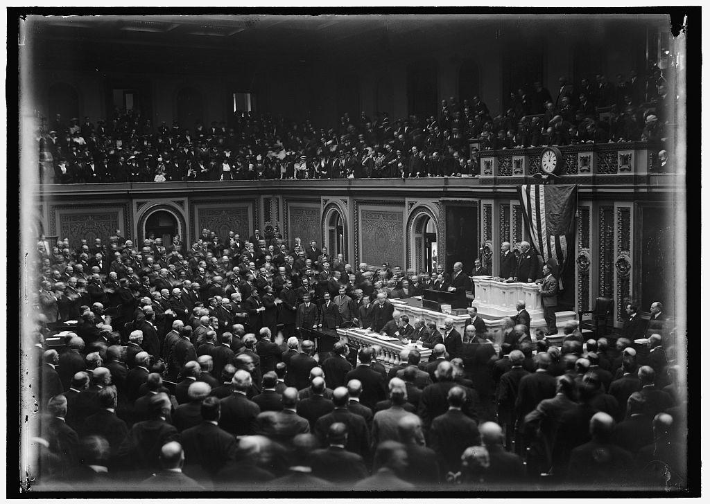 CONGRESS, WILSON BEFORE... FEBRUARY 3, 1917