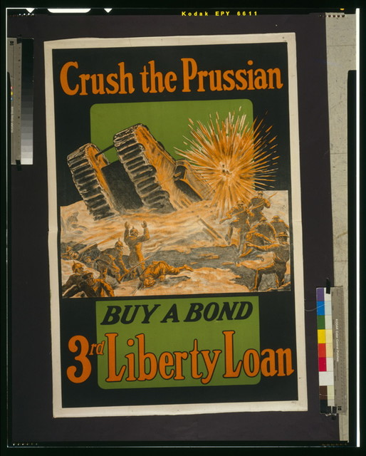 Crush the Prussian--Buy a bond--3rd Liberty Loan