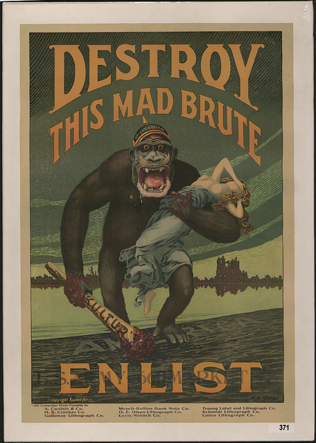 Destroy this mad brute Enlist - U.S. Army.