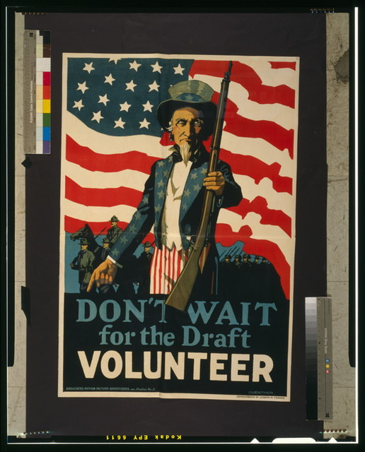 Don't wait for the draft--Volunteer / Guenther.