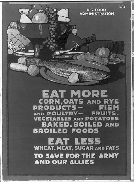 Eat more corn, oats and rye products - ... Eat less wheat, meat, ... / L.N. Britton.
