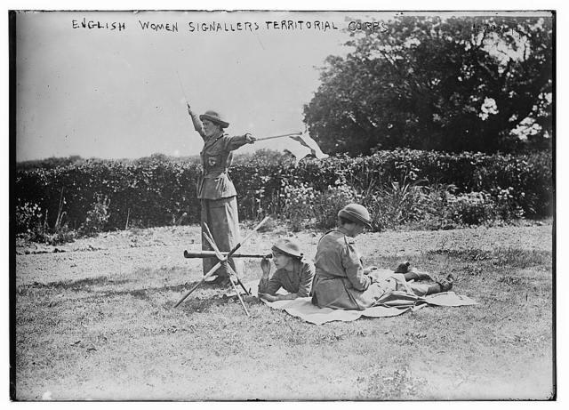 English Women Signallers Territorial Corps