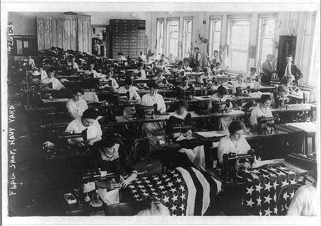 Flag shop, Navy Yard
