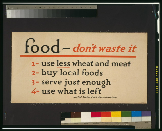 Food - don't waste it