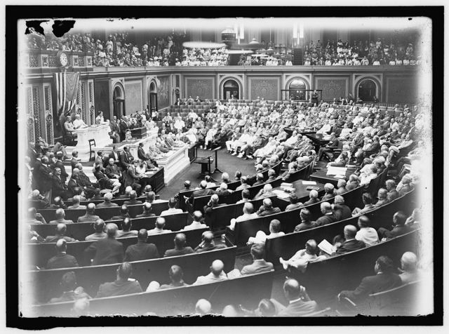 FOREIGN AFFAIRS. WILSON DELIVERING ADDRESS ON FOREIGN AFFAIRS