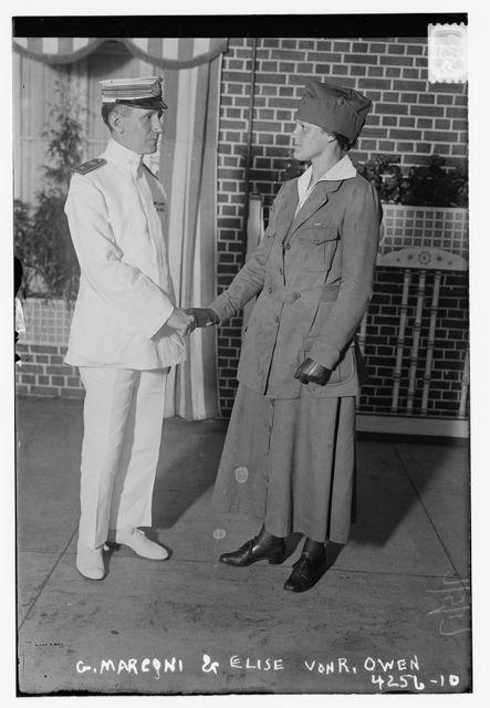 G. Marconi & Elise Von. R. Owen