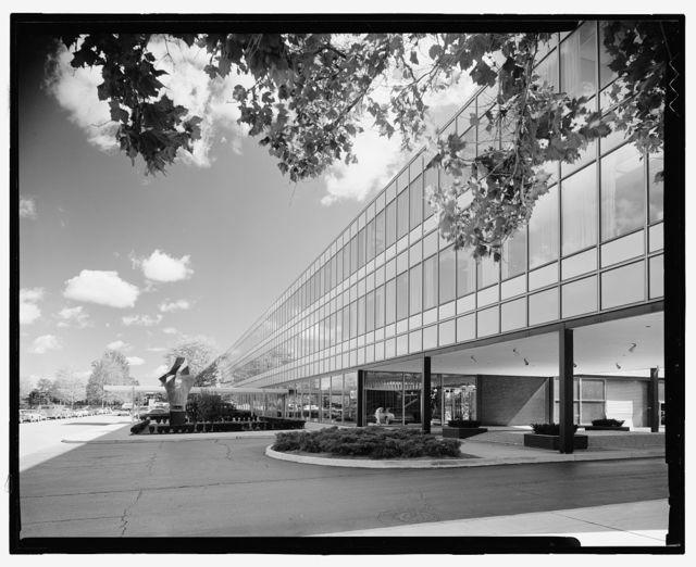 General Motors Technical Center, Warren, Michigan, 1945; 1946-56. Design Center