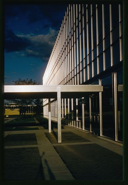 General Motors Technical Center, Warren, Michigan, 1945; 1946-56. Design Center detail