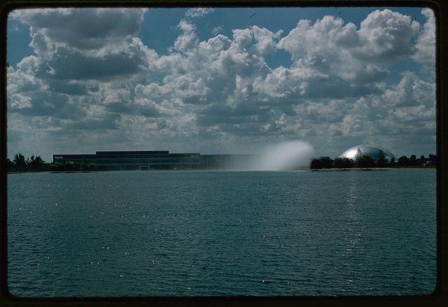 General Motors Technical Center, Warren, Michigan, 1945; 1946-56. Distant view